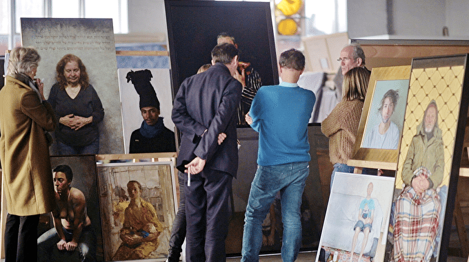 BP Portrait Award Artists 2014