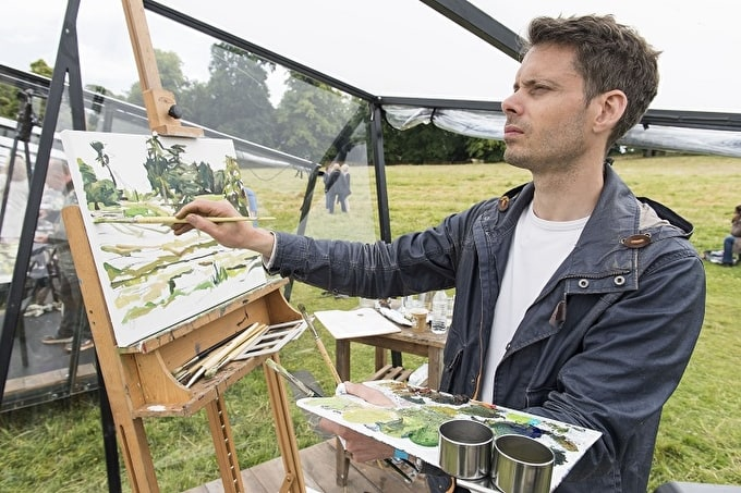 RICHARD ALLEN WINS HEAT SIX OF SKY ARTS LANDSCAPE ARTIST OF THE YEAR 2016