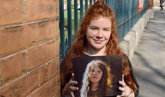 EXCLUSIVE INTERVIEW WITH HEAT 1 WINNER OF SKY ARTS PORTRAIT ARTIST OF THE YEAR 2018