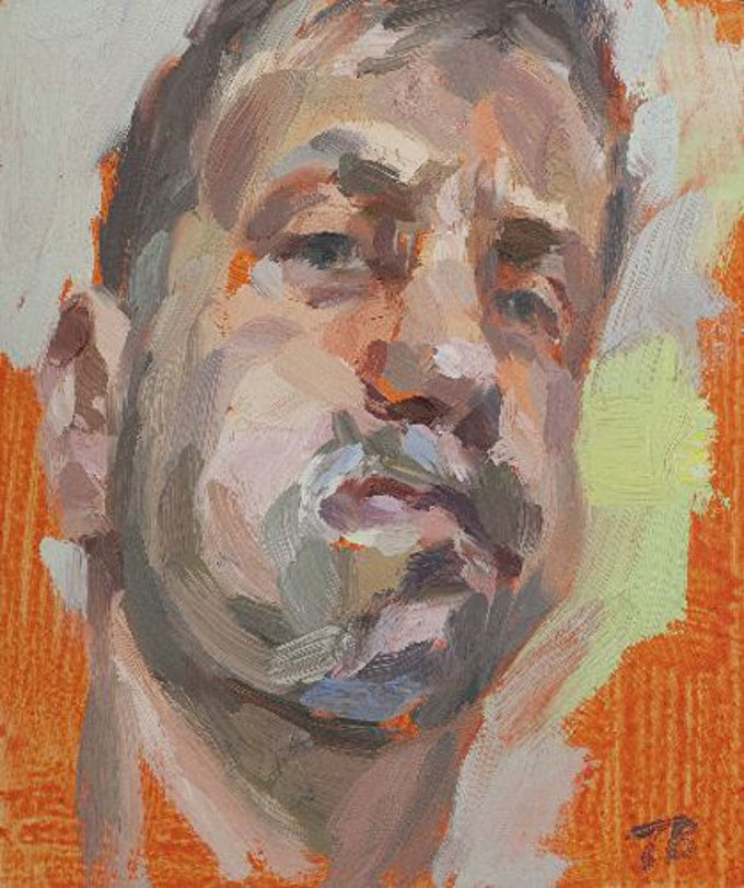 Tim Benson Portrait Painting: Highgate Contemporary Art