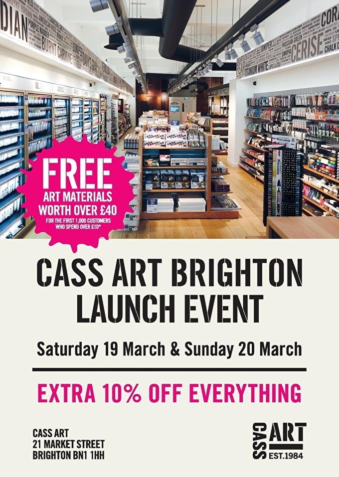 Past Event: BRIGHTON LAUNCH EVENT | 19th & 20th March