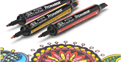 The 4 Different Winsor & Newton Marker Pens