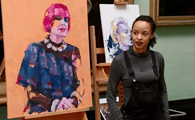 EXCLUSIVE INTERVIEW WITH THE WINNER OF SKY ARTS PORTRAIT ARTIST OF THE YEAR 2018