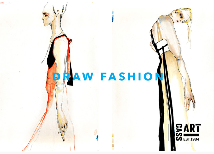 #StudentSpotlight: London College of Fashion come together to DRAW FASHION