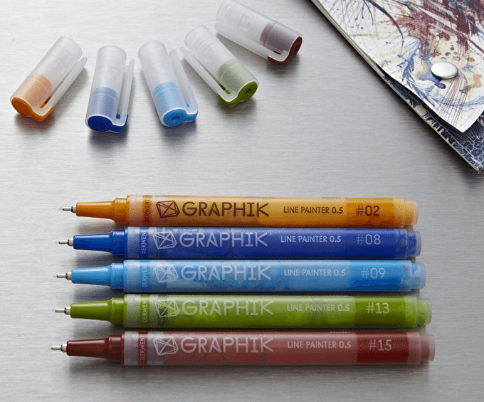 How To: New Graphik Pens