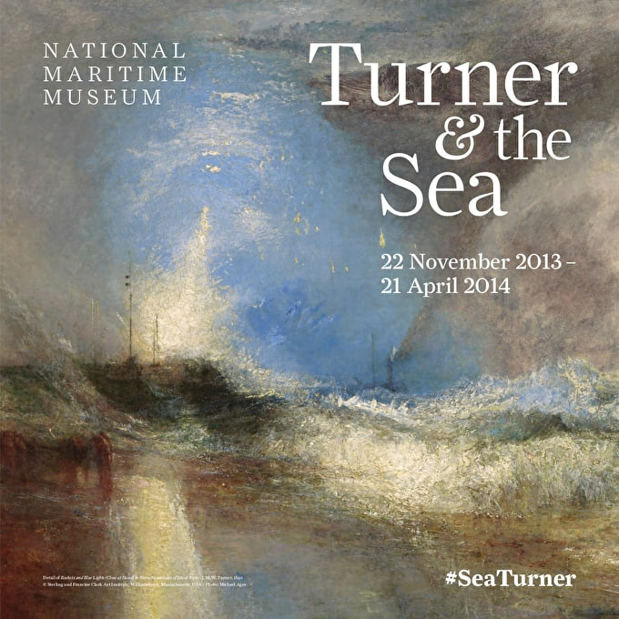 Past event: Turner and the Sea at the National Maritime Museum, Greenwich