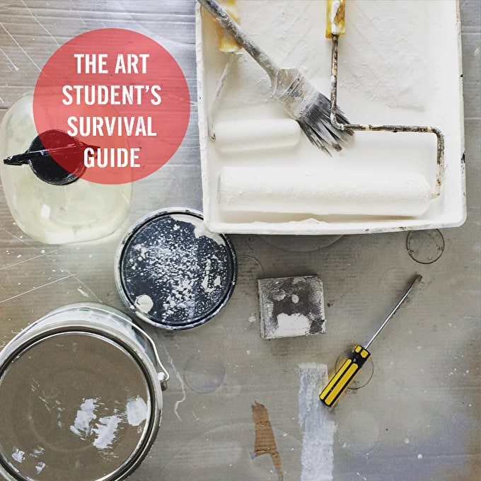 The Art Student's Survival Guide to Degree Shows & Assessments