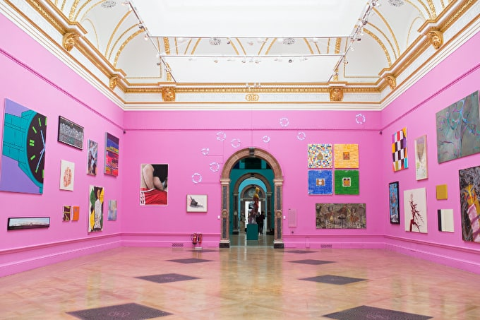 Jock McFayden tells us about this year's RA Summer Exhibition full of dazzling colour