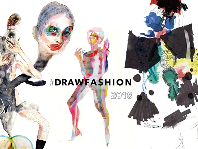 Call for Entries: London College of Fashion #DRAWFASHION 2018
