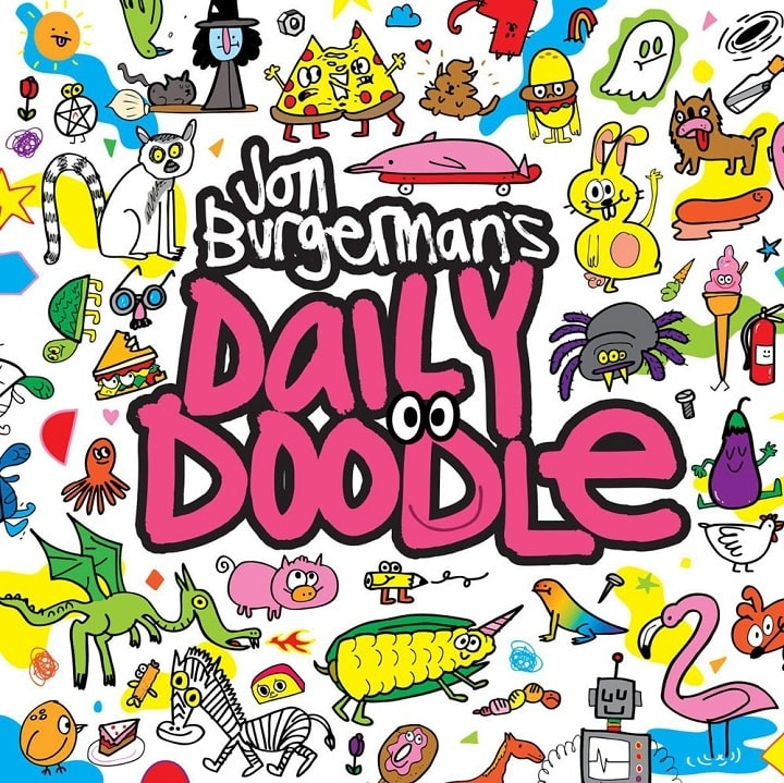 Interview with artist designer jon burgerman doodles scrawls congratulations on the release of your new guide daily doodle can you tell us more about how the concept for the book began solutioingenieria Images