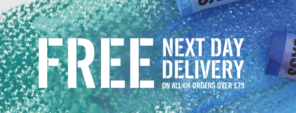 Cass Art offers Free next day delivery when you spend over £75
