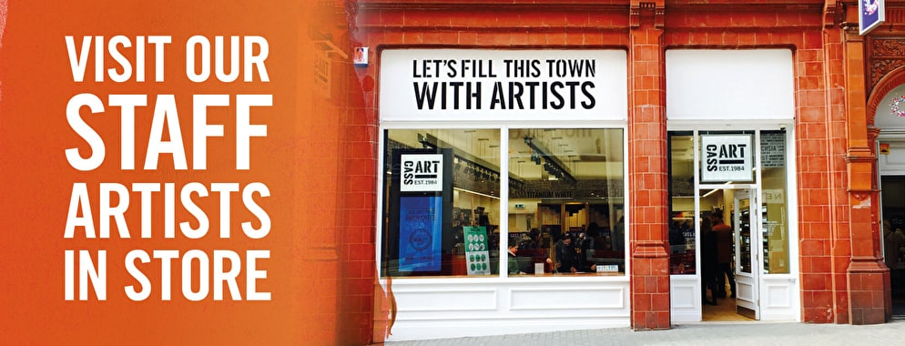 Our staff artists are available in all our UK stores to help you find the right art materials for your practice.