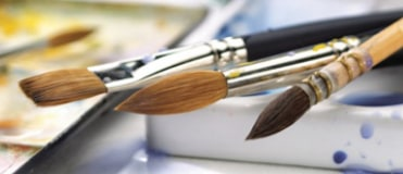From sable brushes to Hog, Winsor & Newton are guaranteed the best quality for any painter.