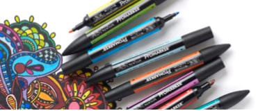 Winsor & Newton Markers include the innovated Promarker, Brushmarker and Pigment Marker.