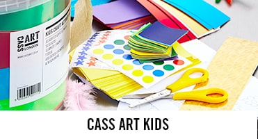 Kids crafts available for holidays and half terms or to help with the homework online from Cass Art.