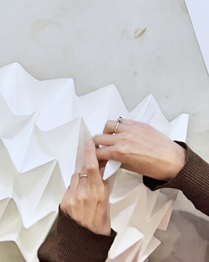 Hand Folded Lighting with Kate Colin