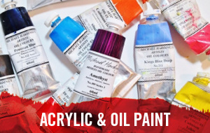 Oil and Acrylic Paints are on Sale for a limited time only at Cass Art.