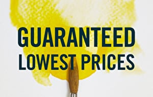 Our price guarantee means you're bound to get the best deal possible on your painting and drawing supplies.