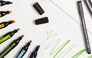For sketching, drawing or calligraphy, we have fine liners and markers at the best prices guaranteed.
