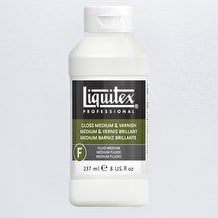 Liquitex Professional Gloss Fluid Medium & Varnish