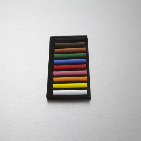 Conte Soft Pastel Pack of 10 Assorted Colours
