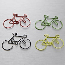 NPW Bicycle Clips Page Markers Pack of 4