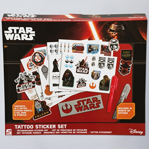 Star Wars Episode 7 Tattoo Sticker Kit