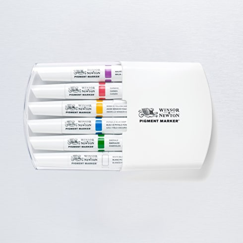 Winsor & Newton Pigment Marker Rich Tones Set of 6