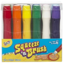 Galt Squeeze & Brush Classic Set of 12 24ml Assorted Colours