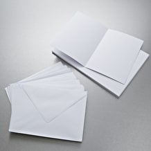 Anita's Card and Envelope Pack of 25 A5 White