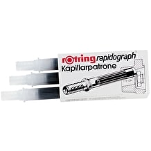 Rotring Rapidograph Ink Pack of 3