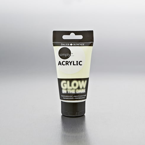 Daler-Rowney Simply Glow in the Dark Paint 75ml