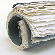 Khadi Roll up Book 100gsm 38 pages 30 x 42cm