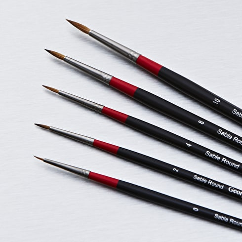 Daler Rowney Georgian Sable Round