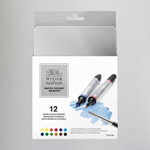 Winsor & Newton Watercolour Marker Set of 12 Assorted