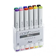 Copic Original Markers Set of 12