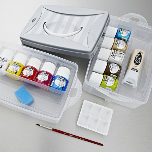 Pebeo Setacolour Opaque Workbox Assorted Colours