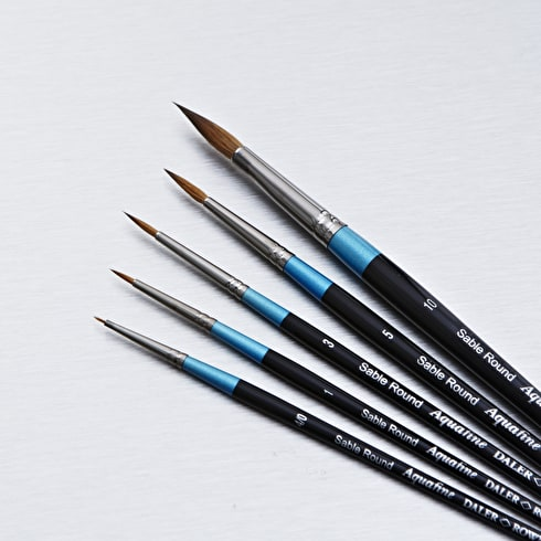Daler Rowney Aquafine Sable Round | Watercolour Brushes | Cass Art