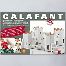Calafant Cardboard Pirate Fortress Making Kit