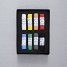 Unison Pastel Cass Exclusive Assorted Colour Set of 8
