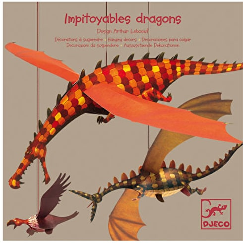 Djeco Mobile Dragons Decoration