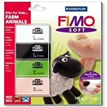 Fimo Fold over Set Farm Animals