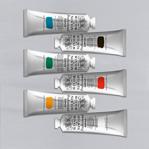 Winsor & Newton Artists' Acrylic Colour | Professional Acrylic Paint | Cass Art