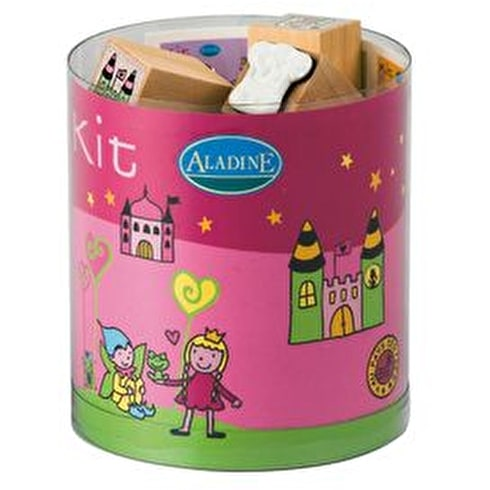 Aladine Rubber Stamp Fairyland Pack of 15