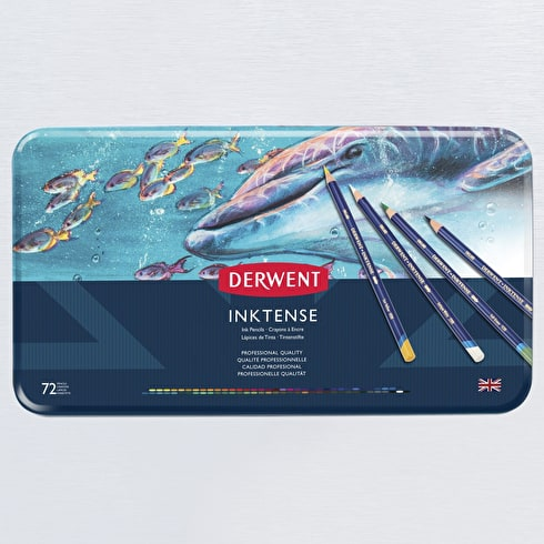 Derwent Inktense Pencil Tin Set of 72