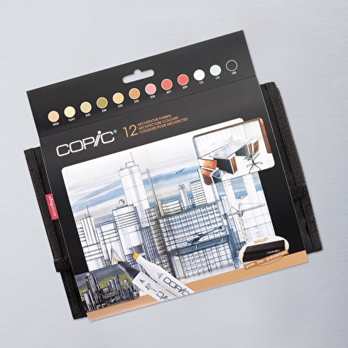 Copic Marker Architecture Wallet Set of 12