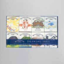 Winsor & Newton William Collection Ink Pack of 8 14ml