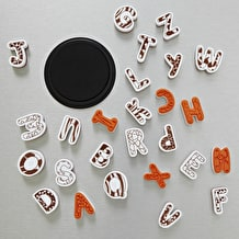 Aladine Uppercase Letters Rubber Stamp Set Extra Large