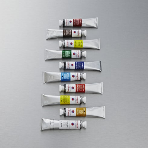 Daler Rowney Georgian Water Mixable Oil 20ml Set of 10 | Cass Art