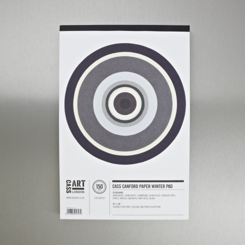 Cass Art Canford Paper Pad Winter 150gsm 100 Sheets 15 x 10 inches